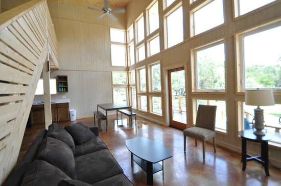 Seven Bluff Cabins On The Frio: Inside Cabin 14