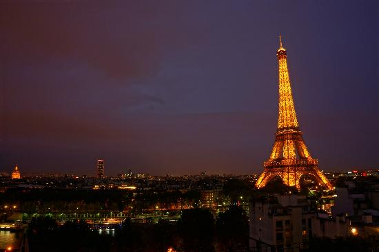 Shangri-La Hotel Paris: this view cost 800 Euro at least