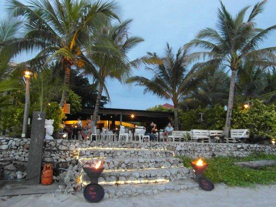 The Brasserie: Vanaf het strand bereikbaar