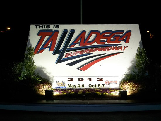 Talladega Taz RV Park & Campground: Racetrack Entry Point