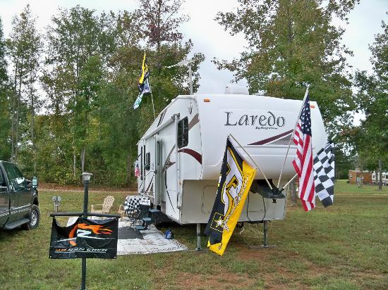 Talladega Taz RV Park & Campground: Site view