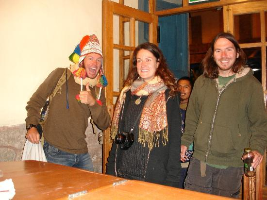 Hitchhikers Backpackers Cusco Hostel: Recepcion