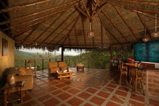 Samai Ocean View Lodge Spa: Reception - Info Center