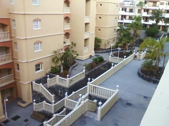 Winter Gardens : Balcony view