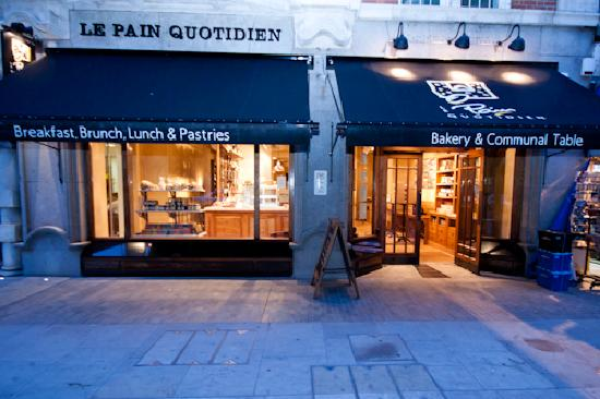 Photo of Bakery Le Pain Quotidien at 22 North Audley Street, London W1K 6WL, United Kingdom