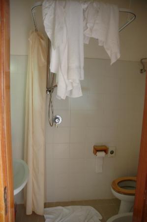 Albergo Ristorante Portole: bagno .albergo 3 stelle.