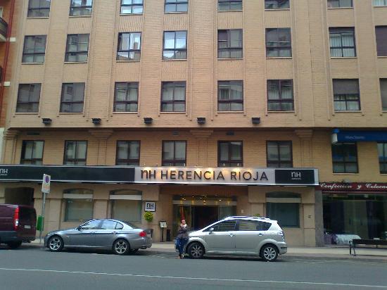 NH Logrono Herencia Rioja : Fachada del hotel