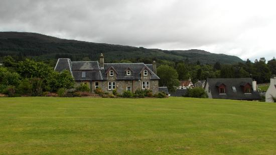 The Lovat, Loch Ness: From the front door of the Lovat