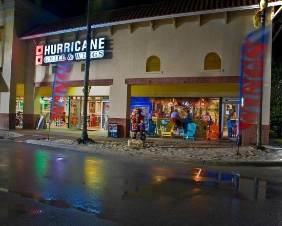 Hurricane Grill & Wings Entrance