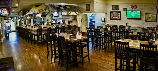Hurricane Grill & Wings: High Top Seating