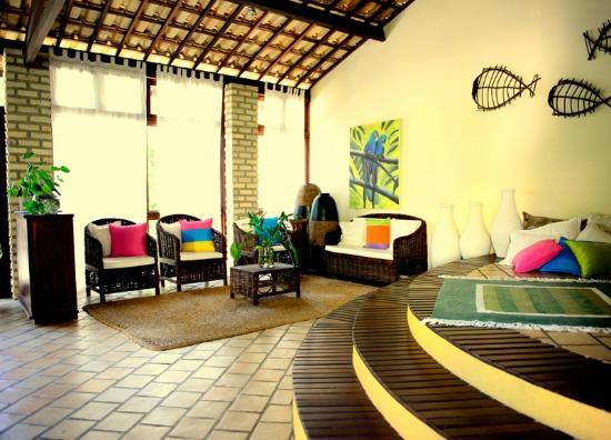 Brasil Tropical Village: Área da recepção