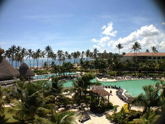 Now Larimar Punta Cana: View from 4th floor room (Junior Deluxe Suite)