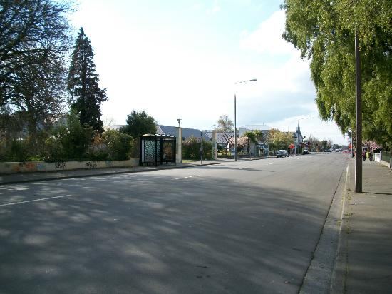 City Centre Motel: la rue devant l'hôtel