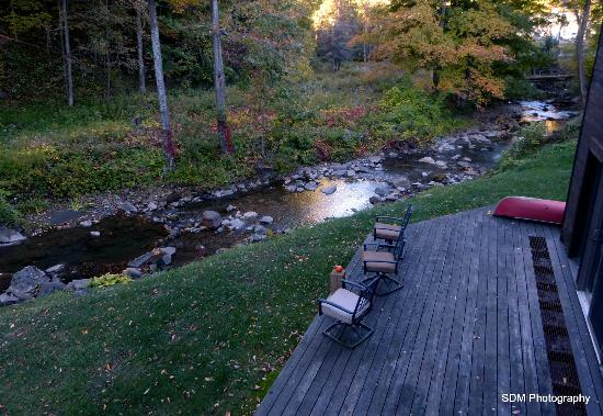 Grist Mill House: A lovely babbling stream lulls you to sleep.