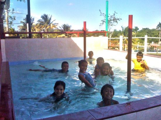 Rumors Resort: Kiddies pool & playground attracts kids during summer