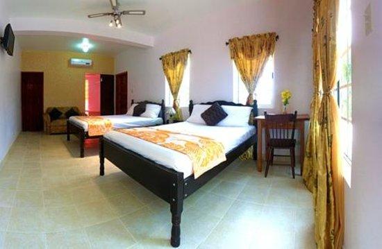 Rumors Resort: very clean double rooms