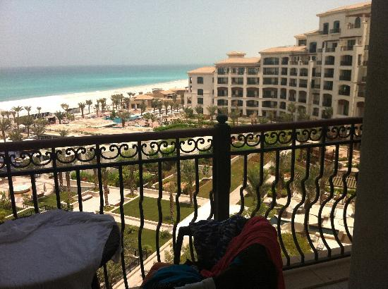 The St. Regis Saadiyat Island Resort: Sea View