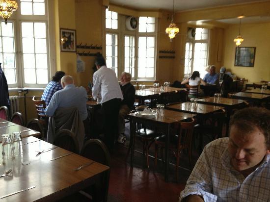 The India Club Restaurant: Second floor dining room.