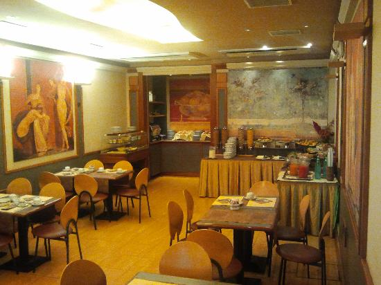 Best Western Hotel Artdeco: sala colazione 