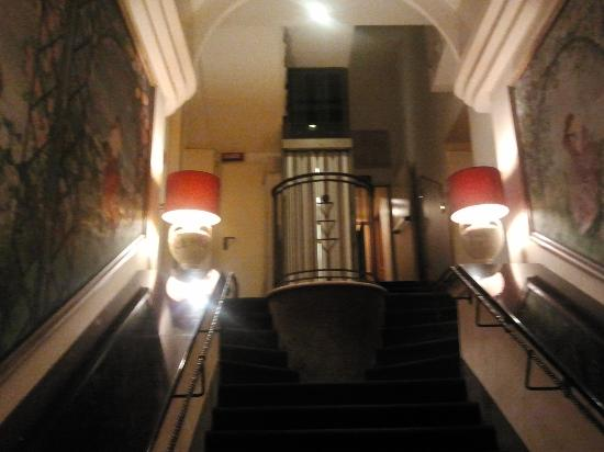 Best Western Hotel Artdeco: scala interna 