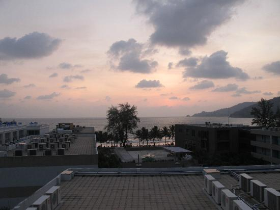 7Q Hotel: From the rooftop, view