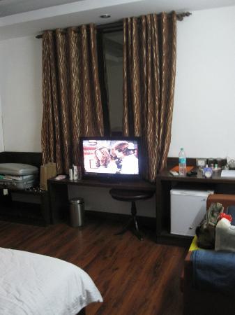 Treebo Citi International : room