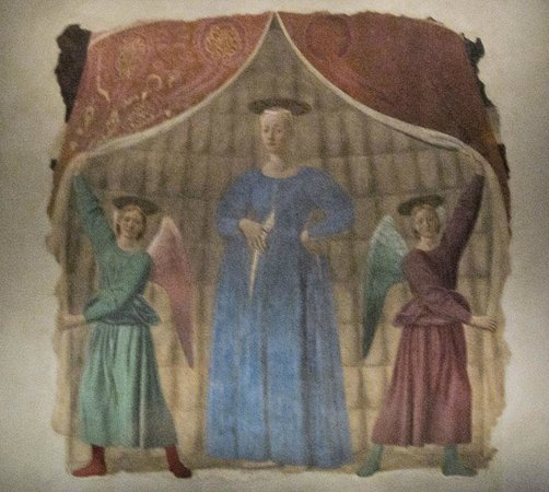 Monterchi, Italie : Madonna del Parto