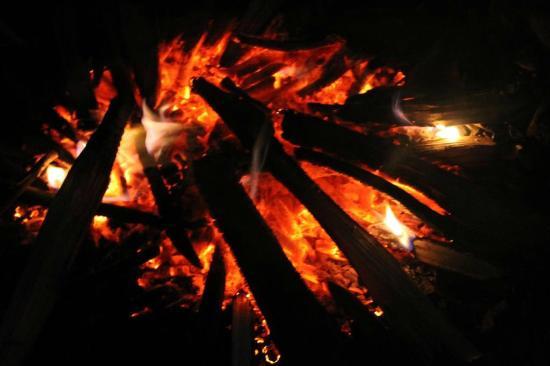 Mount Pleasant Boutique Resort: Camp Fire 