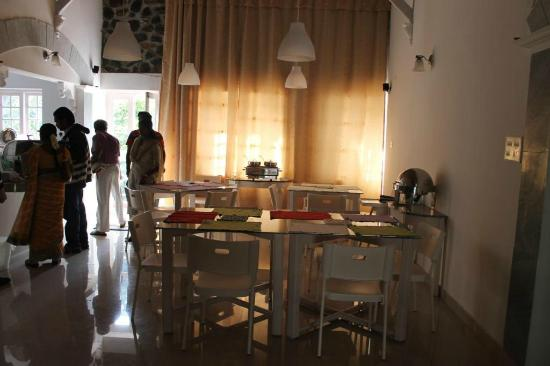 Mount Pleasant Boutique Resort: The Dining Place with Buffe on our choice 