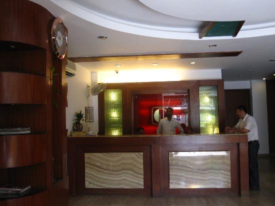 Treebo Citi International: lobby