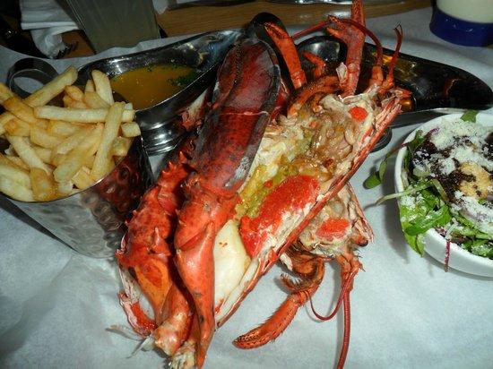 Burger & Lobster - Mayfair: steam lobster