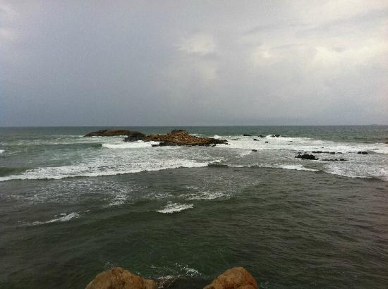 India Hut: The lovely seaview!