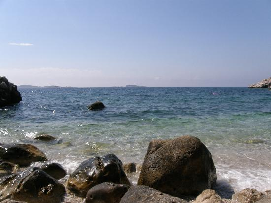 Kupari, Κροατία: nearest beach - small and beautiful