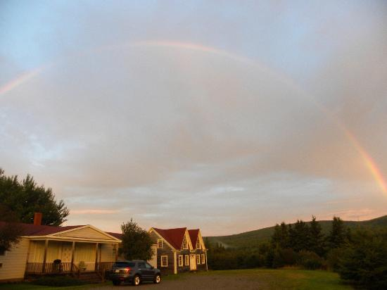 Margaree Riverview Inn: Tolle Lage