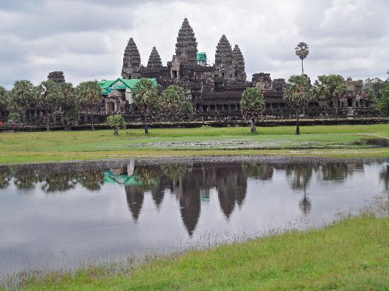 Bilder från Angkor Wat, Siem Reap