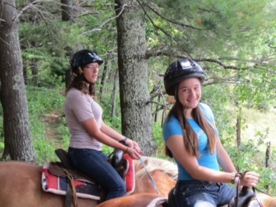 Arrowmont Stables: Riding In A Pine Forest