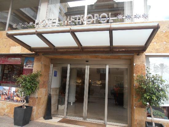 Hotel Metropol: Ingresso hotel