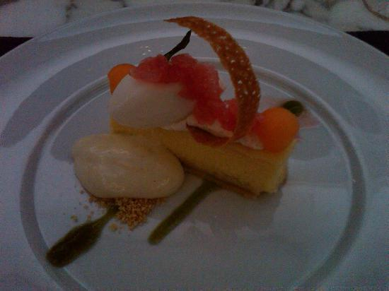 Oceana Restaurant: olive oil cheesecake