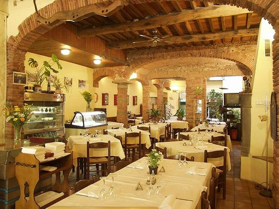 friendly restaurant with a good menu - Review of Del Sonno, Bagni di ...