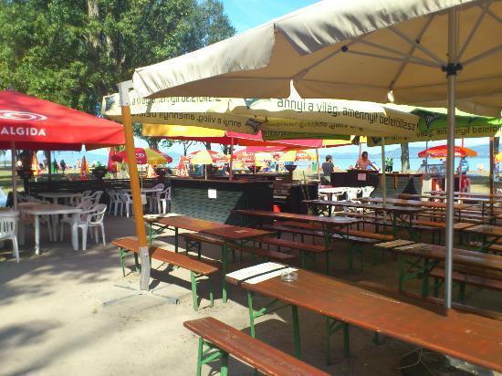 Melis Pension and Restaurant: Beach Bar