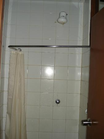 Hotel Central Park Nairobi: Shower