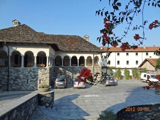 San Rocco Hotel: Hotel San Rocco entrance