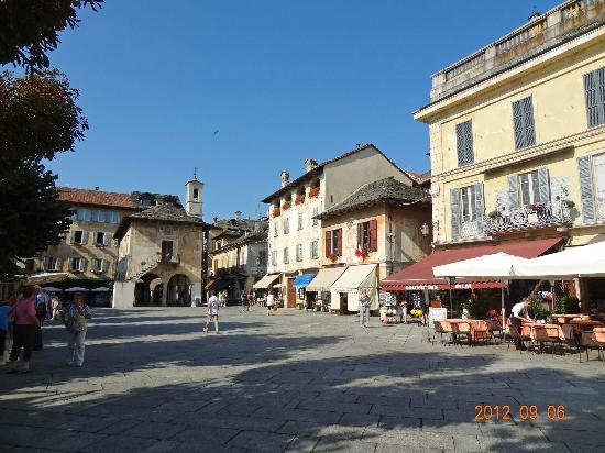 San Rocco Hotel: Town of Orta San Giulio