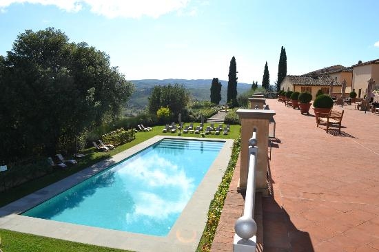 Castello del Nero Boutique Hotel & Spa: Lovely pool