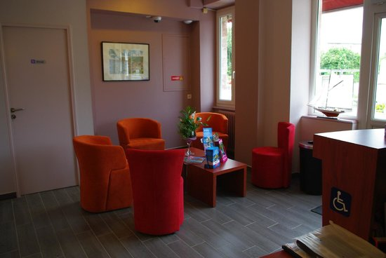 Hotel Le Bon Cap: salon
