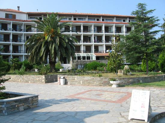 Alexander The Great Beach Hotel: Main Building