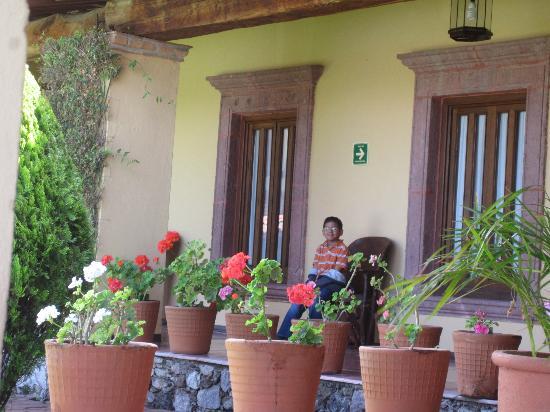 Mirador del Frayle Hotel: Main building Hallways