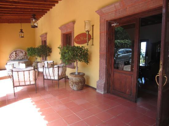 Mirador del Frayle Hotel: Hotel entrance