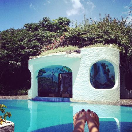Finca Rosa Blanca Coffee Plantation Resort: Nice quiet pool and hot tub