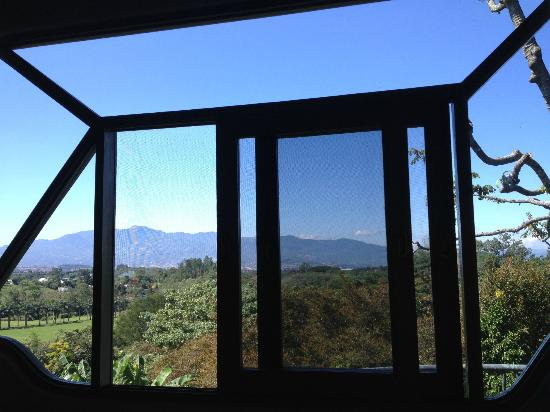 Finca Rosa Blanca Coffee Plantation Resort: Waking up to this was amazing!